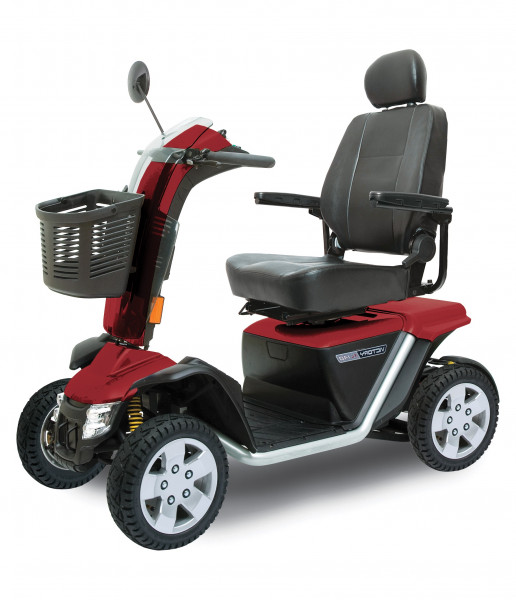 PRIDE Elektro-Scooter Victory XL 140 15 km/h Rot