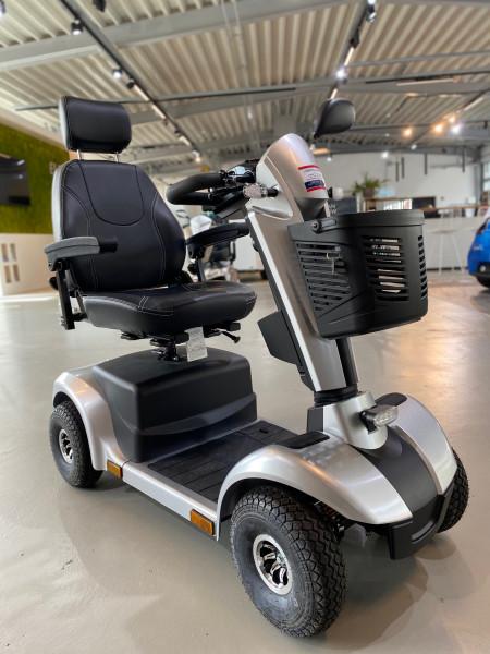 Pride Kolja Elite 4 rad Elektromobil Seniorenmobil silber Krankenfahrstuhl