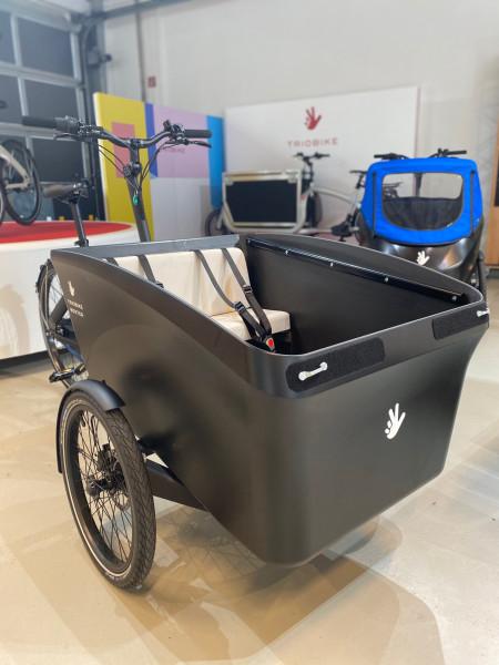Triobike Boxter Mid Drive Schwarz Brose Antrieb S 250W - 90Nm Enviolo CA Gates Carbon Drive