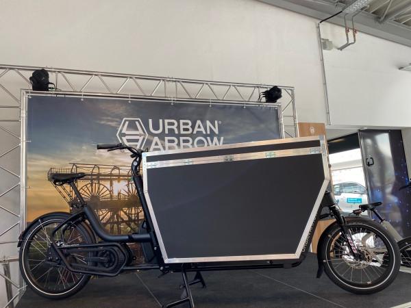Urban Arrow Cargo XL Flightcase XL Schwarz
