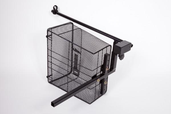 UNIVERSAL Heckkorb mit Stockhalter Komplett-Set