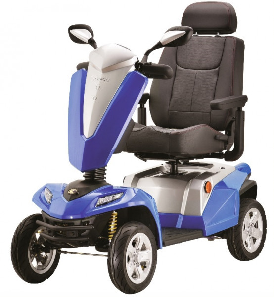 KYMCO Maxer 4-Rad-Scooter Blau 20 km/h