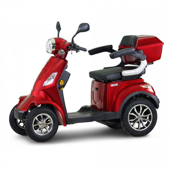 ECONELO Elektro-Vierradroller J4000 Rot