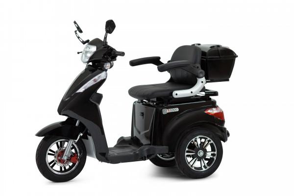 ECONELO Elektro-Dreiradroller S1000 Schwarz