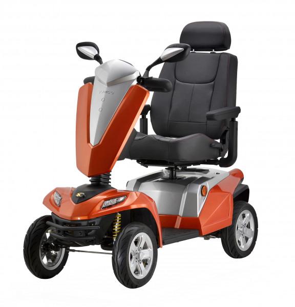 KYMCO TEXEL 4-Rad-Scooter Orange 15 km/h