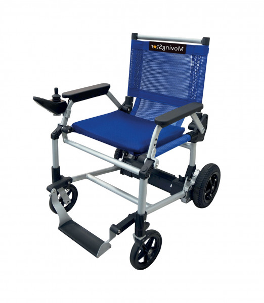 MovingStar 101 blau Elektromobil-Rollstuhl