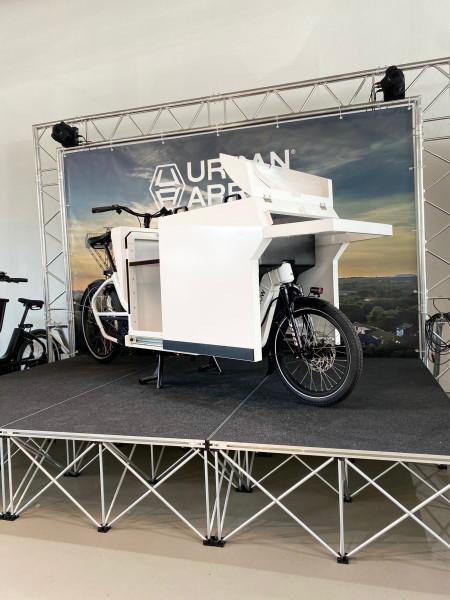 Urban Arrow Cargo Flatbed L inklusive Craft Box
