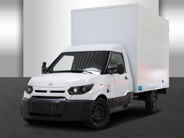 StreetScooter Work Box Rapid Kofferaufbau Elektrotransporter E-Transporter