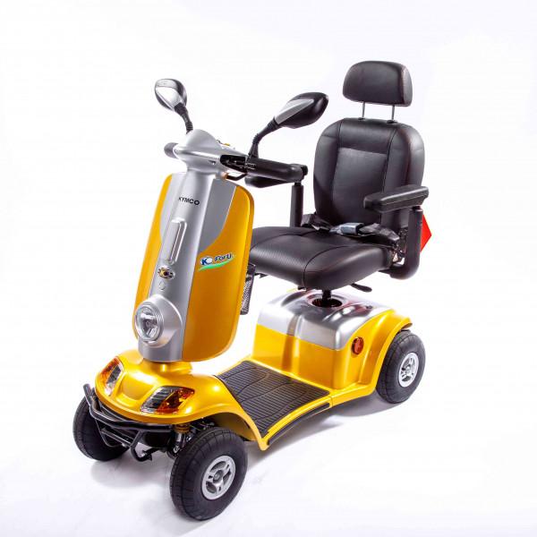 KYMCO Elektro 4-Rad-Scooter POEL ForU Gelb 12 km/h
