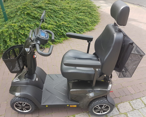 "MOBILIS 4-Rad-Elektro-Scooter M84 ""Pro"" Anthrazit"