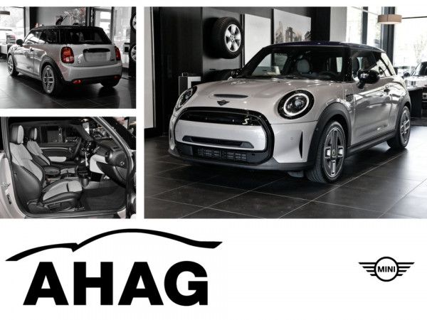 Cooper SE MINI Electric Collection Rooftop Grey metallic