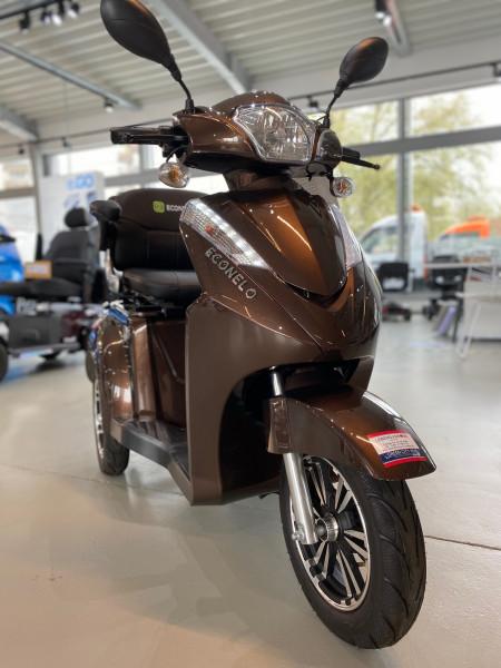 Econelo Dreiradrolller S1000B S1000 Braun Seniorenscooter Seniorenmobil Krankenfahrstuhl